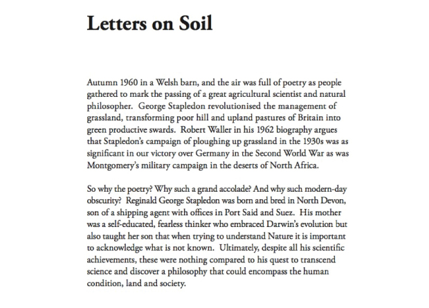 Soil lives a book by martin wood for Soil 5 letters